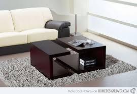 Modern Table For Living Room 15 Modern Center Tables Made From Wood Home Design Lover