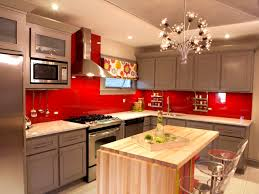 bathroom good looking red color kitchen cabinets grey walls and