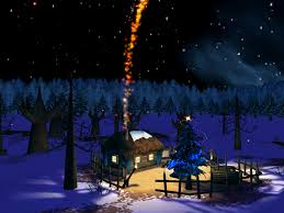 spooky screensavers christmas night 3d screensaver 1 0 free download
