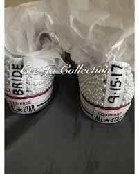 wedding shoes converse amazing deal on wedding converse pearl converse bridal converse