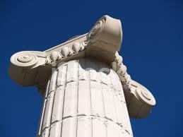 Greek Pedestal Large Greek Pedestal Column Stock Photos Freeimages Com