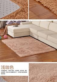 Soft Bathroom Rugs by Short Plush Soft Rugs And Carpets Bedroom Large Solid Carpets For