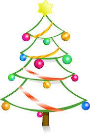 christmas tree line art free download clip art free clip art