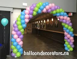 graduation and prom balloon decorations balloon decorators toronto