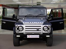 land rover overfinch used land rover overfinch defender 40th anniversary limited