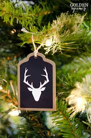 diy tag ornaments the golden sycamore