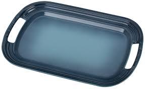 halloween serving tray le creuset stoneware rectangular serving tray u0026 reviews wayfair