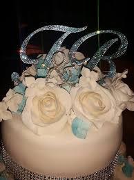 esküvői tortadíszek wedding cake toppers strasszokkal