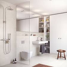 Open Shower Bathroom Design 17 Best Bathrooms Images On Pinterest Tiled Bathrooms Room And