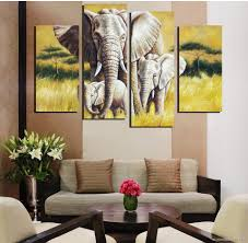 Livingroom Paintings by Innovative Ideas Elephant Decor For Living Room Strikingly Design