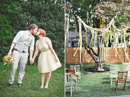 Wedding In Backyard by Shannon U0026 Pete Diy Backyard Wedding In Philadelphia Snippet