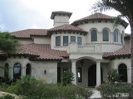 Eagle Roof Tile Capistrano 3603 Sanborn Blend Mediterranean Exterior Tampa