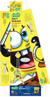 spongebob squarepants musical instrument range packaging artwork