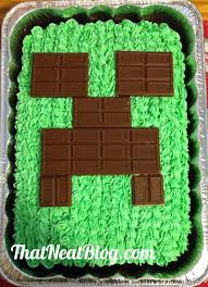 10 beautiful birthday cakes that you can recreate minecraft cake