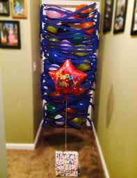 birthday balloons for him birthday morning balloon avalanche once they open the door on the