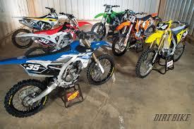 racing motocross bikes dirt bike magazine 2015 250f motocross shootout