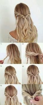 Hochsteckfrisuren Selber Machen Halblange Haare by Schöne Haarfrisuren Für Jeden Anlass