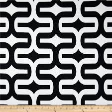 Black Valances Premier Prints Carrie Stripe Black White Discount Designer