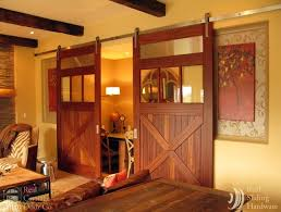 Home Barn Doors by Eclectic Home Theater