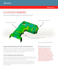 solidworks plastics solidworks europe pdf catalogue