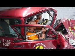 si e auto crash test crash test ncap utilitarie di ieri e di oggi
