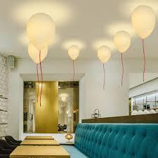 eclairage led chambre creative blanc verre ballon plafond de lumière led e27 enfants