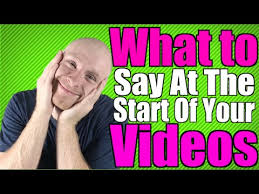 marketing what to say at the start of your