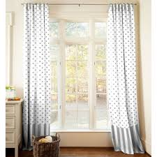 Curtains White And Grey Grey And White Blackout Curtains Gordyn