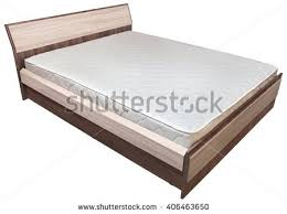 lift double bed storage space orthopedic stock photo 530736580
