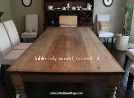 Waxed Pine Dining Table Waxed Pine Dining Table Satuska Info
