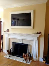 best 25 tv frames ideas on home tvs beige framed