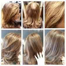 highlights for grey hair pictures before after balayage highlights grey hair color by lisa fukuda