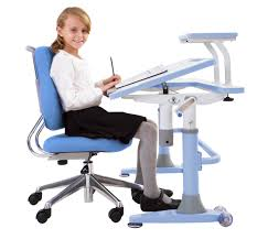 Kid Desk Chair by Ergonomic Desk And Adjustable Swivel Chair For Kids Decofurnish
