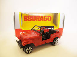 toy jeep car bburago renegade jeep cj7 red model toy car rare 1 43 scale boxed