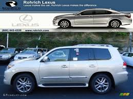 lexus satin cashmere metallic 2013 satin cashmere metallic lexus lx 570 72101814 photo 5