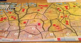Stalingrad On Map Sgt Steiner U0027s Wargaming Blog Turning Point Stalingrad Played And
