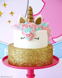 how to make a birthday cake birthday unicorns