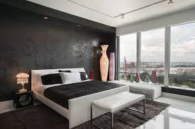 Black King Size Platform Bed Black Soffit Bedroom Contemporary With End Of Bed Bench King Size