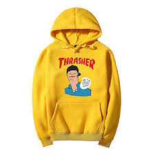 new sell paragraph thrasher tops hooded sweatshirts coat