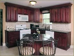 Free Standing Kitchen Design Cherry Mahogany Kitchen Cabinets 2017 Ne Free Standing Kitchen