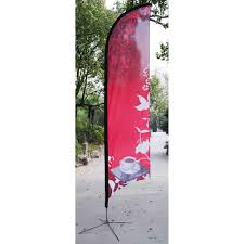 Flag Stands Outdoor Flag Banner Stand In Order To Standardize Onthe Walls Tear Drop Flags