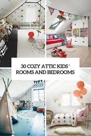 Attic Space Design by 30 Cozy Attic Kids Rooms And Bedrooms Shelterness