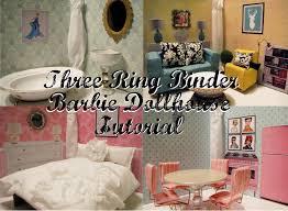 southern disposition diy three ring binder dollhouse tutorial