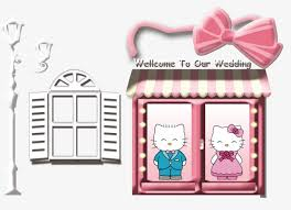 kitty cat pink blue lovely png psd file free download