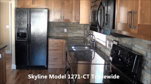 triple wide manufactured home model 1271ct skyline factory direct