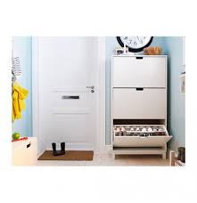bissa shoe cabinet with 3 compartments ikea stall shoe cabinet white hallway urban sales