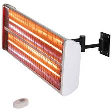 wall mount garage heater energ outdoor wall mount infrared electric heater 5 100 btu