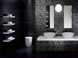white bathroom floor tile ideas bathroom marvelous white bathroom with color accents black tiles