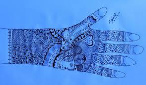 pencil bridal mehndi designs with pencil drawing of sketch