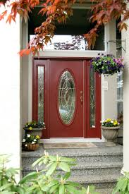 Red Door Paint Articles With Red Brick House Front Door Color Ideas Tag